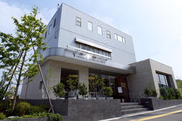 菓子工房T.YOKOGAWA外観