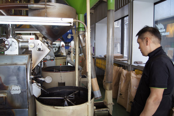 珈夢亭_焙煎機械